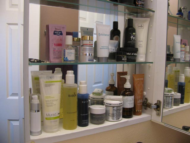 Cosmetic Monster Bathroom Cabinet (March 2011)