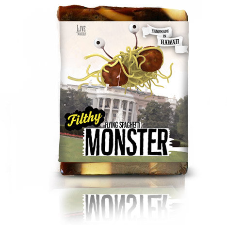 FILTHY FARMGIRL SPAGHETTI MONSTER