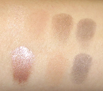 CAT COSMETICS CUSTOMIZABLE PALETTE SWATCHES