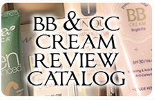 BB AND CC CREAM REVIEW CATALOG INDEX