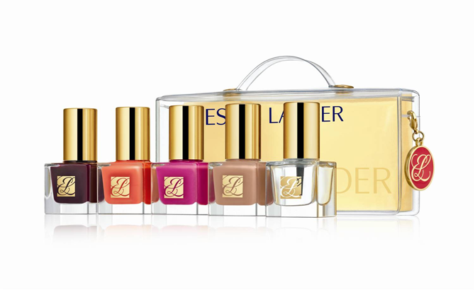 ESTEE LAUDER PURE COLOR NAIL LACQUER TRAVEL COLLECTION