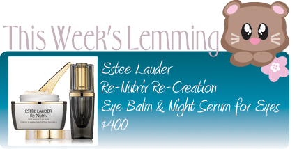 ESTEE LAUDER RE-CREATION FOR EYES $400
