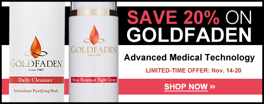 GOLDFADEN ON SALE AT DERMSTORE