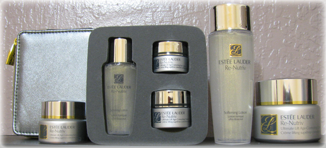 ESTEE LAUDER RE-NUTRIV ULTIMATE PRECIOUS COLLECTION - PRODUCTS