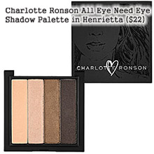 CHARLOTTE RONSON ALL EYE NEED PALETTE IN HENRIETTA ($22)