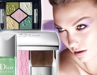 DIOR SPRINT 2012 GARDEN PARTY COLOR COLLECTION