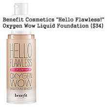 BENEFIT HELLO FLAWLESS OXYGEN WOW LIQUID FOUNDATION - NEW