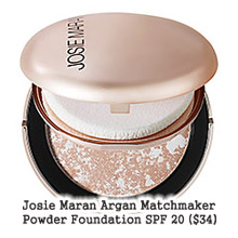 JOSIE MARAN ARGAN MATCHMAKER POWDER FOUNDATION SPF 20 - NEW