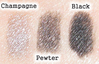 PHYSICIANS FORMULA NUDE EYES SWATCHES