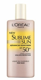LOREAL SUBLIME SUN LIQUID SILK SUNSHIELD FOR FACE