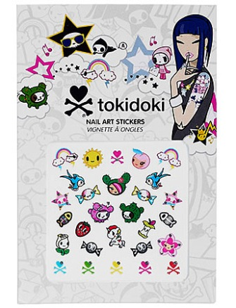TOKIDOKI NAIL ART