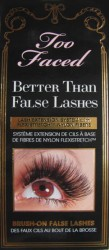TOO FACE BETTER THAN FALSE LASHES MASCARA ($35)