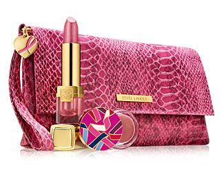ESTEE LAUDER BCA 2012- Evelyn Lauder and Elizabeth Hurley Dream Lip Collection