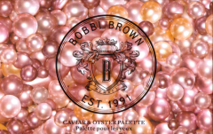 BOBBI BROWN OYSTER AND CAVIAR PEARL PACKAGING