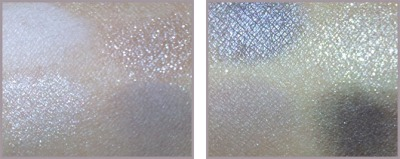 CAVIAR AND OYSTER PALETTE SWATCHES (SHADOWS)