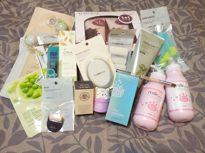 THE FACE SHOP HAUL