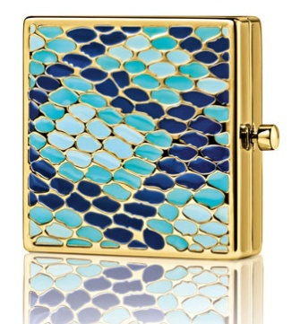 Estee Lauder Year Of The Snake Lucidity Translucent Pressed Powder Compact