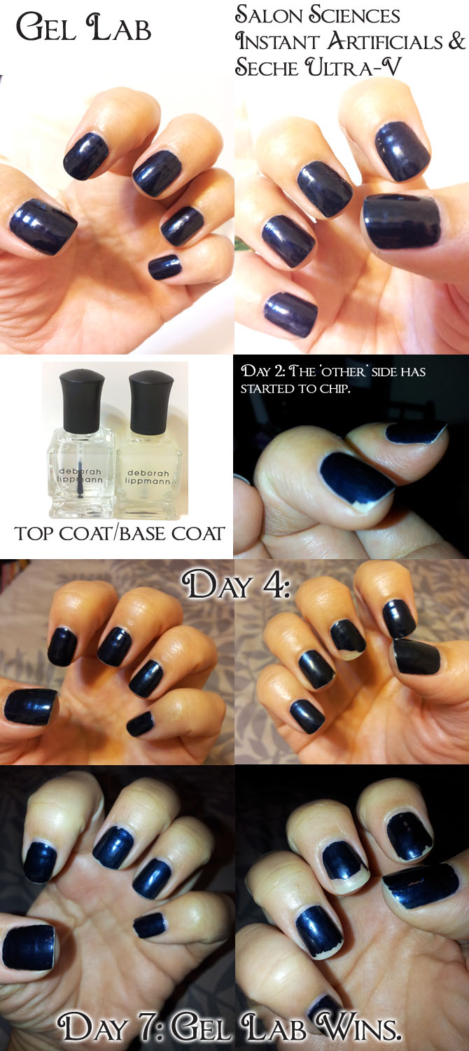 DEBORAH LIPPMANN GEL LAB RESULTS
