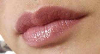 ESTEE LAUDER KISSABLE LIPSHINE IN VIENNA - ON LIPS