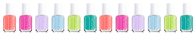 Essie Naughty Nautical Summer 2013 Collection