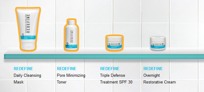 RODAN AND FIELDS REDEFINE REGIMEN ORDER