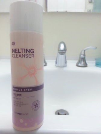 THE FACE SHOP SIMPLE STEP MELTING CLEANSER REVIEW