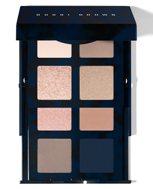 BOBBI BROWN NAVY AND NUDES EYE PALETTE REVIEW & SWATCHES