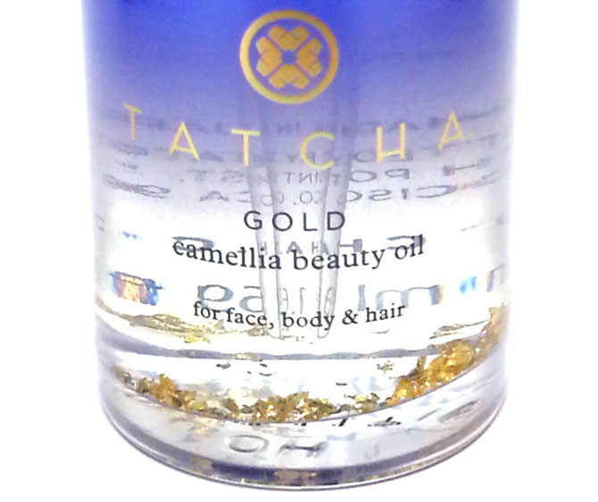 TATCHA GOLD CAMELLIA BEAUTY OIL CLOSE UP