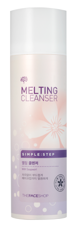 THE FACE SHOP SIMPLE STEP MELTING CLEANSER