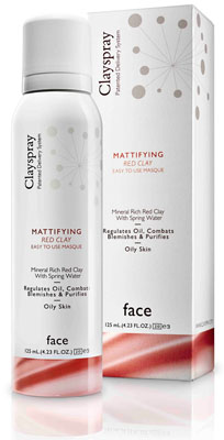 CLAYSPRAY MATTIFYING RED CLAY MASQUE - PRODUCT IMAGE