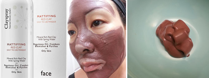 CLAYSPRAY MATTIFYING RED CLAY MASQUE