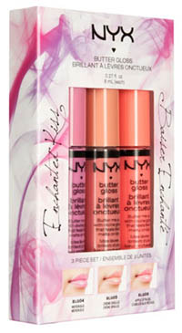 NYX BUTTER GLOSS ENCHANTED KISS SET - IMAGE 3