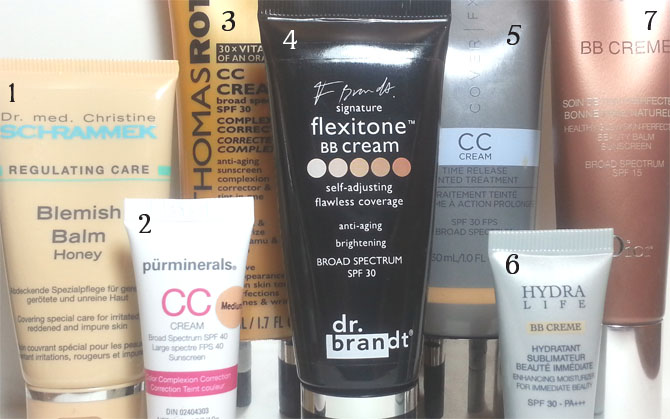 BB CREAM AND CC CREAM REVIEWS
