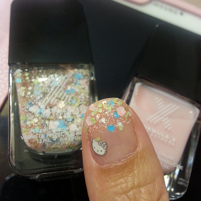 CONFETTI NAILS - SEPHORA DEMOLITION