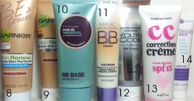 DRUGSTORE BB CREAM REVIEWS