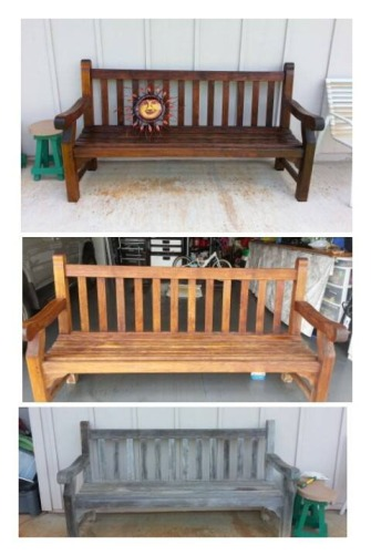 BENCH BEFORE AFTER
