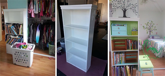 BOOKSHELF BEFORE AFTER 2