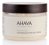 HSN AHAVA DEADSEA SALT SOFTENING BUTTER SALT SCRUB