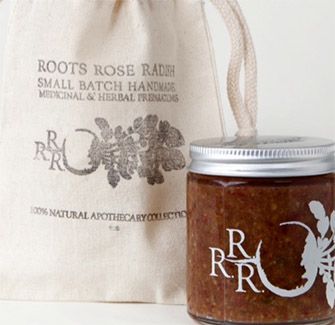 ROOTS ROSE RADISH HONEY PECAN ROSE FACIAL CLEANSER