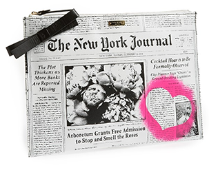 KATE SPADE NEW YORK JOURNAL ZIP TOP POUCH