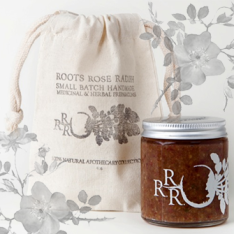 ROOTS ROSE RADISH HONEY PECAN ROSE FACIAL CLEANSIER - IMAGE 1