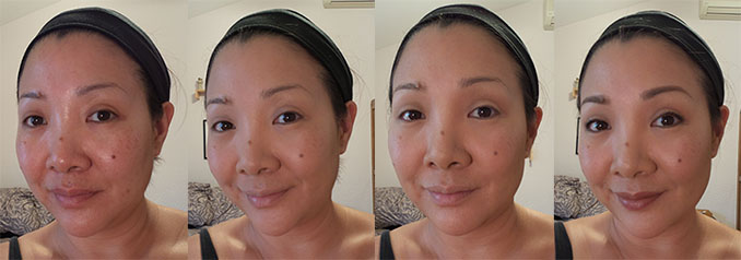 ANASTASIA CONTOUR KIT BEFORE AND AFTER