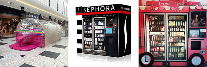 MAKEUP VENDING MACHINES
