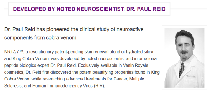 DR PAUL REID