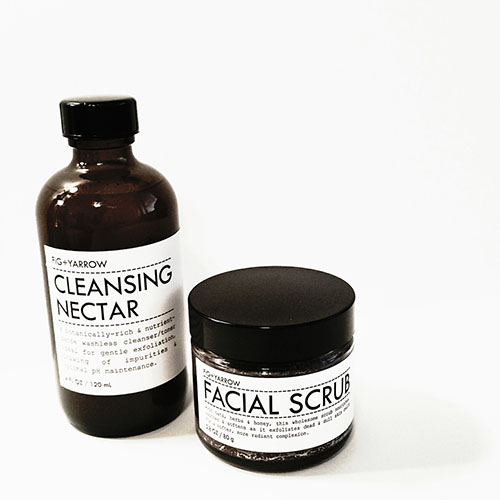 fig and yarrow cleansing nectar facial scrub review