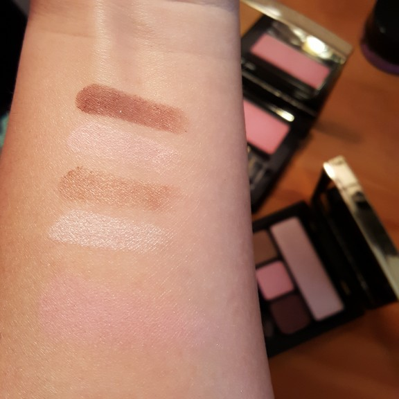 Artistry Signature Color Eye and Cheek Kit Pink Chocolate Swatches